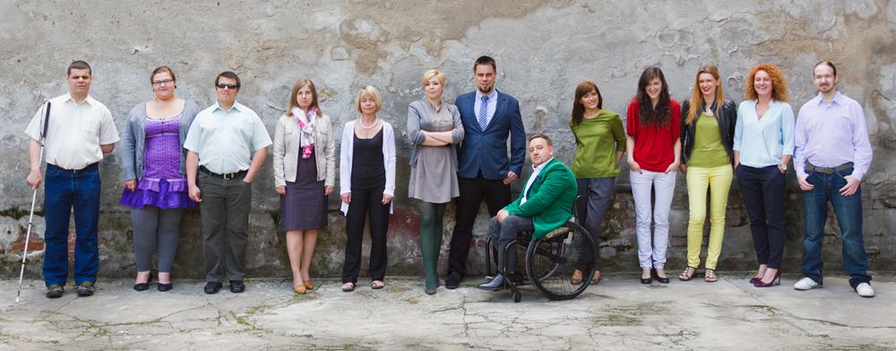 Zdjęcie grupowe zespołu