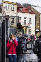 Dżamp Weekendowy 2015 winda w autobusie
