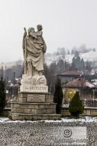 Dżamp Weekendowy 2015 posąg św. Krzysztofa